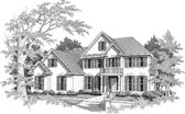 Plan Number 58126 - 2821 Square Feet