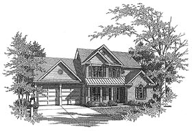 Plan Number 58127 - 1905 Square Feet