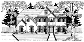 Traditional House Plan 58134 Elevation