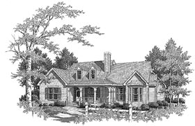 Plan Number 58136 - 2007 Square Feet