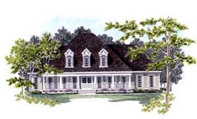 Cape Cod House Plan 58137 Elevation