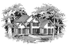 Plan Number 58139 - 3359 Square Feet