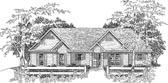 Plan Number 58144 - 1307 Square Feet