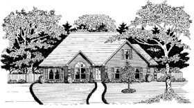 Traditional House Plan 58146 Elevation