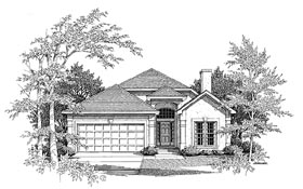 Plan Number 58153 - 1586 Square Feet