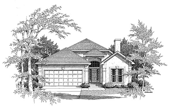 Traditional House Plan 58153 Elevation