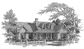 Plan Number 58158 - 1889 Square Feet