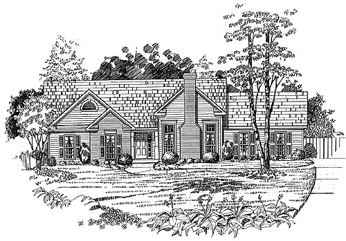 Traditional House Plan 58160 Elevation