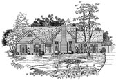 Plan Number 58160 - 1387 Square Feet