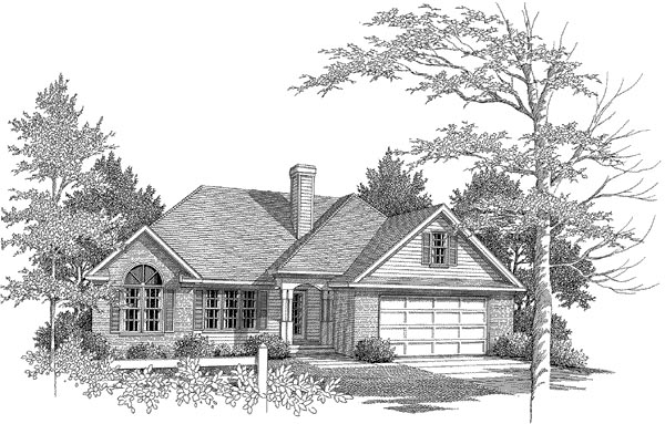 Traditional House Plan 58162 Elevation