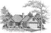 Plan Number 58162 - 1322 Square Feet
