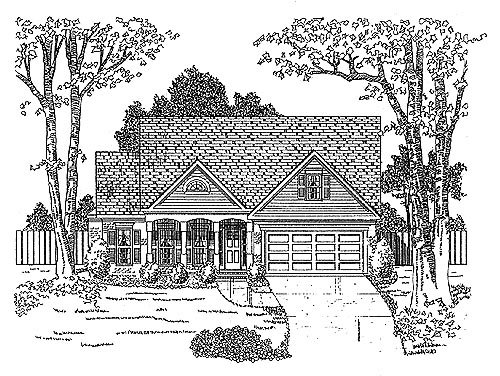 Traditional House Plan 58167 Elevation