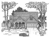 Plan Number 58167 - 1957 Square Feet