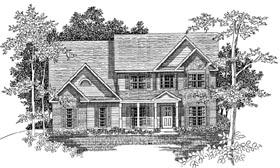 Plan Number 58169 - 1897 Square Feet