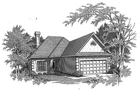 Traditional House Plan 58170 Elevation