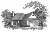 Plan Number 58170 - 1396 Square Feet
