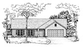 Plan Number 58171 - 1134 Square Feet
