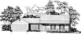 Plan Number 58172 - 1242 Square Feet