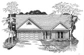 Plan Number 58173 - 1403 Square Feet