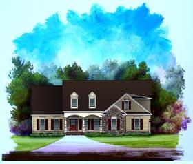 Craftsman House Plan 58182 Elevation