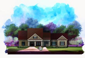 Craftsman House Plan 58186 Elevation