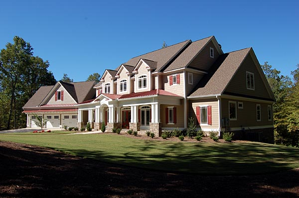 Traditional House Plan 58200 with 4 Beds, 4 Baths, 3 Car Garage Picture 5