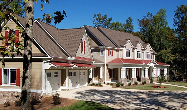 Traditional House Plan 58200 with 4 Beds, 4 Baths, 3 Car Garage Picture 6