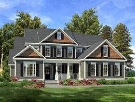 Plan Number 58201 - 3558 Square Feet