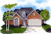 Plan Number 58208 - 1458 Square Feet