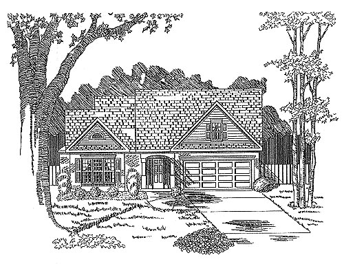 Traditional House Plan 58226 Elevation