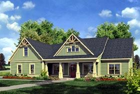Craftsman Traditional House Plan 58234 Elevation