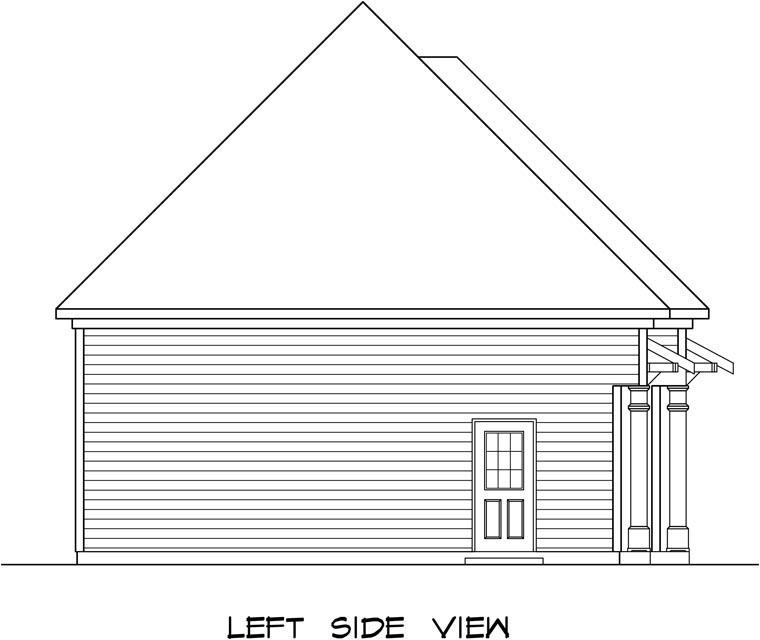 3 Car Garage Plan 58247 Picture 1