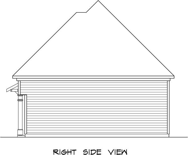 3 Car Garage Plan 58247 Picture 2