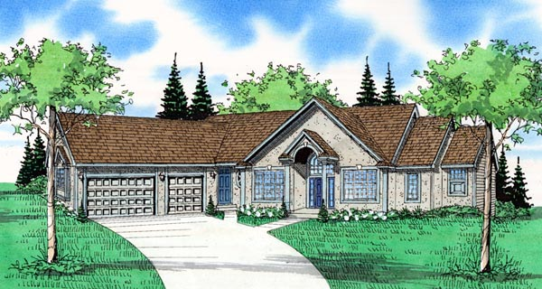 House Plan 58416