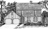 Plan Number 58455 - 1903 Square Feet