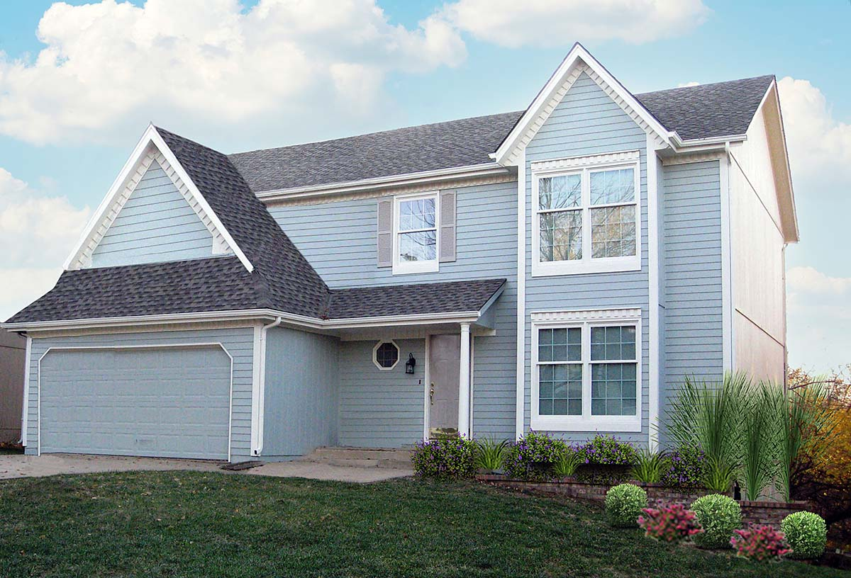 House Plan 58463 Elevation