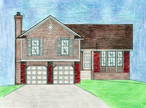 House Plan 58480 Elevation