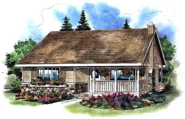 House Plan 58504