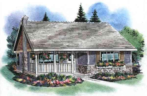 Country House Plan 58524 Elevation