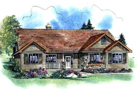 Craftsman House Plan 58533 Elevation