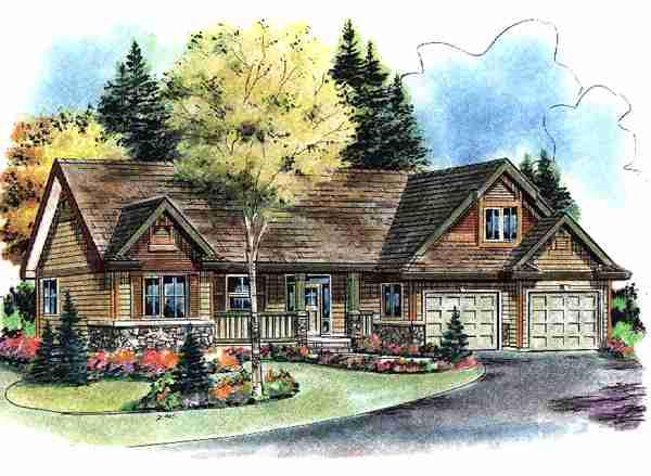 Tudor House Plan 58542 Elevation