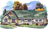 Plan Number 58561 - 1957 Square Feet