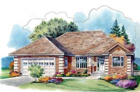 Traditional House Plan 58565 Elevation