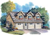 Garage Apartment Plans at FamilyHomePlans.com