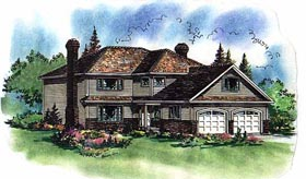 Traditional House Plan 58577 Elevation