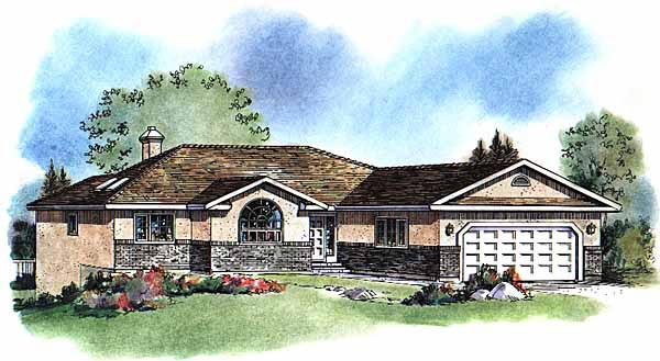 Florida House Plan 58587 Elevation