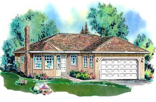 Florida House Plan 58594 Elevation