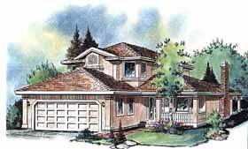 Florida House Plan 58601 Elevation