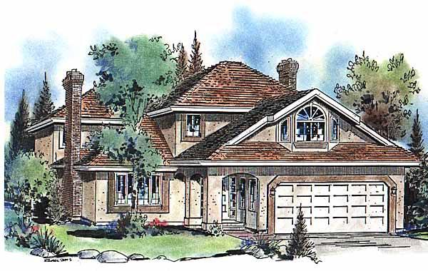 House Plan 58605