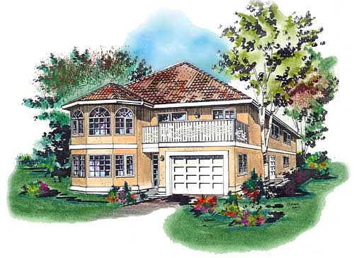Mediterranean House Plan 58632 Elevation